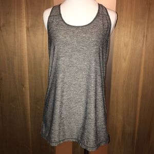 HEAD heather gray racerback tank (fits like a M)